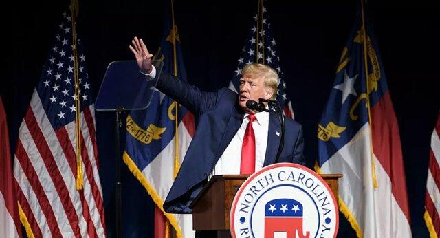 واکنش ترامپ به یادداشت بایدن: عجیب نیست که کشورمان به جهنم میرود!