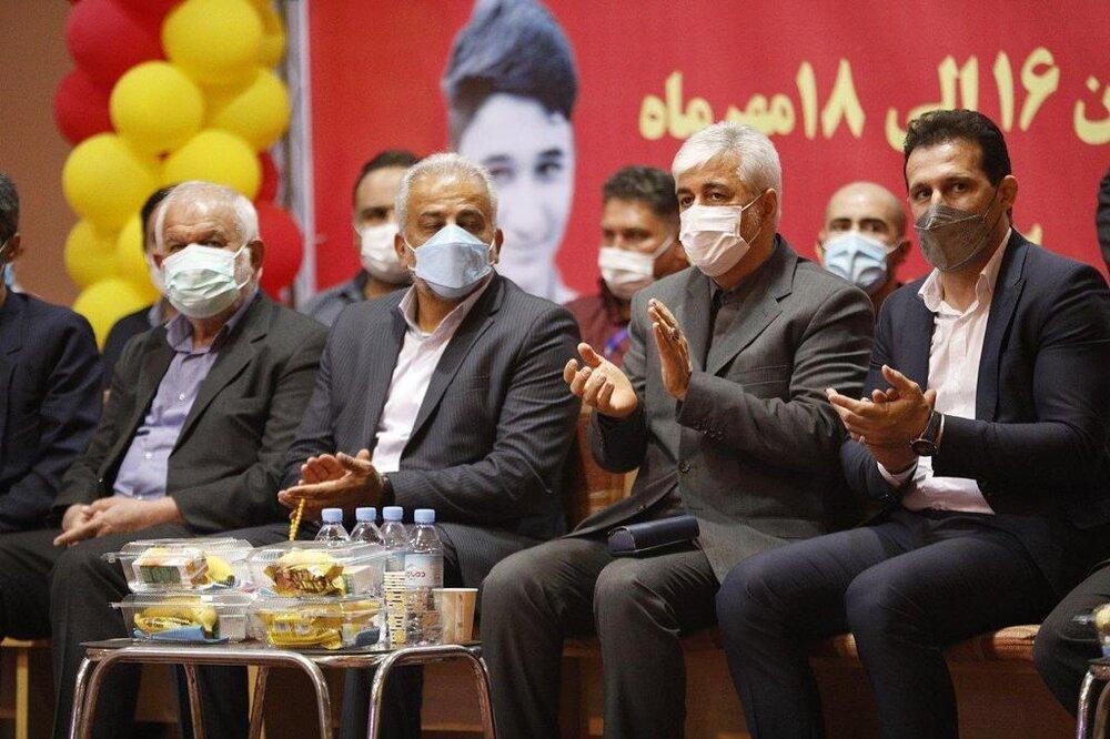 تصاویر| افتتاحیه مسابقات انتخابی تیم ملی جودو