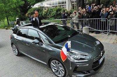 خودرو سیتروئن DS5 رئیس جمهور فرانسه