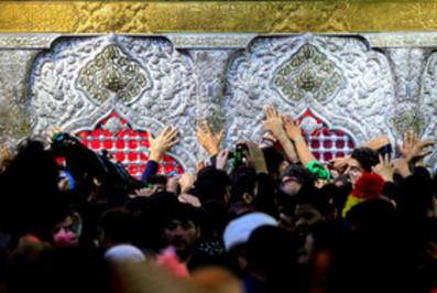 عکس از اربعین حسینی در کربلا