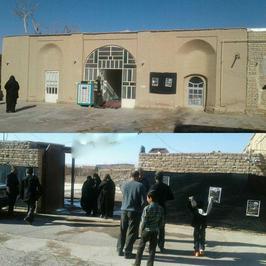 منزل پدری و زادگاه آیتالله هاشمیرفسنجانی در روستای بهرمان استان کرمان