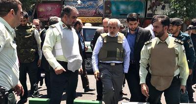 حضور دادستان تهران در محل تیراندازی