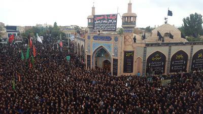 اجتماع عزاداری حسینی در اردبیل