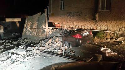 خسارت شدید زلزله در سرپل ذهاب