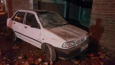 خسارت زمین لرزه در شهر مریوان