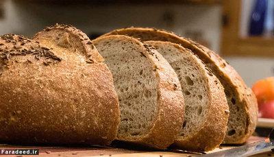 نان دمای پایین مستعد اثر خشک ِ بسیاری از مواد است. نان هم در یخچال خشک و بیات می شود.
