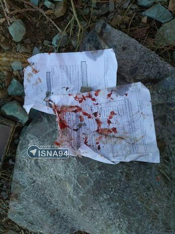 تصویری از فرم دفاعیه یکی از دانشجویانی که در سانحه رانندگی دانشگاه آزاد حضور داشت