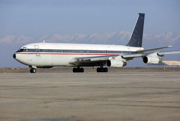 تصویری از هواپیمای سقوط کرده، حدود دو هفته پیش
