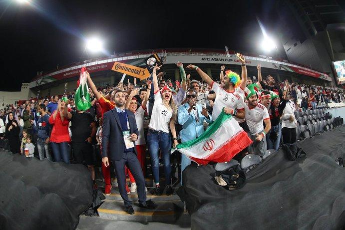 تصاویر زیبا از دور یک هشتم پایانی جام ملتهای آسیا 2019