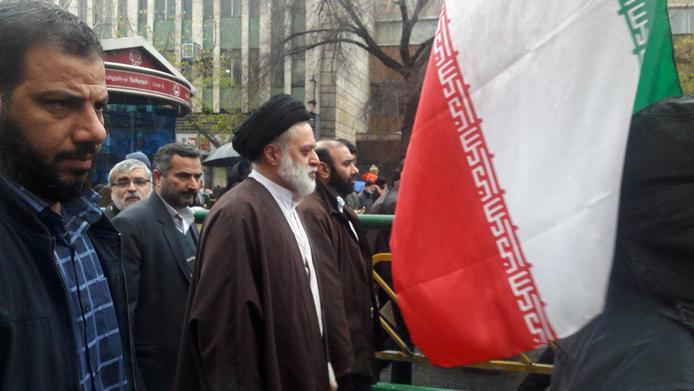 عکس| حضور فرزندان رهبر انقلاب در راهپیمایی 22 بهمن