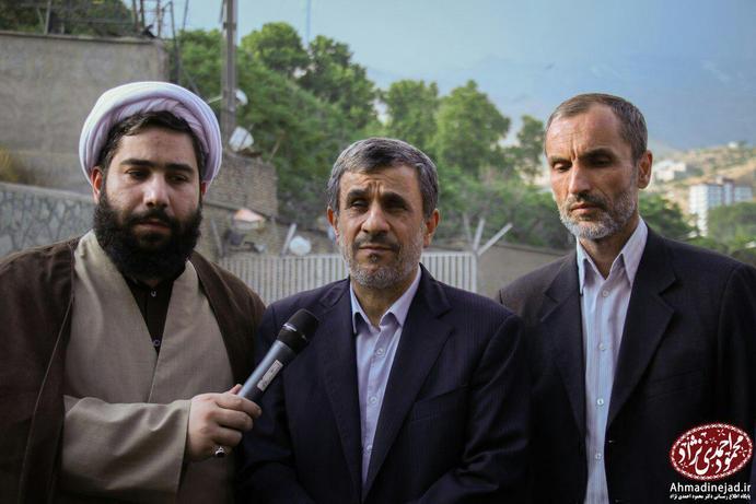 احمدینژاد پس از بدرقه مشایی و بقایی به زندان اوین چه گفت؟ +عکس - 7