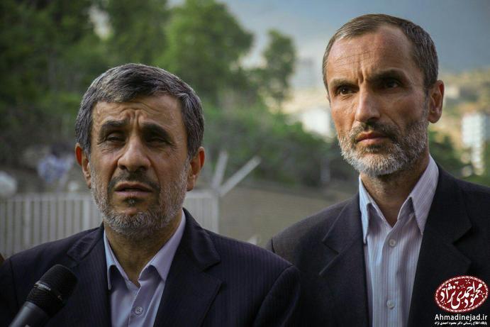 احمدینژاد پس از بدرقه مشایی و بقایی به زندان اوین چه گفت؟ +عکس - 8