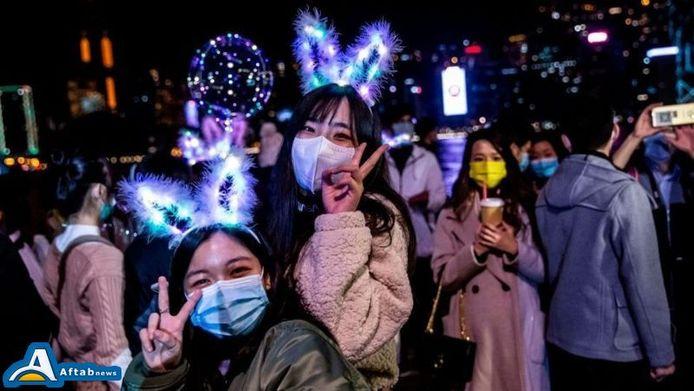 تصاویر  جشنهای سال نو میلادی در جهان