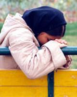 افسردگی دختر