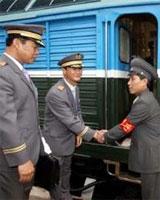 Image result for نخستین قطار کره جنوبی به کره شمالی