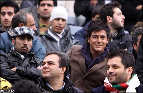 عکس جالبی از محمدرضا گلزار با لبخند زیبای همیشگی