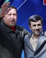 چاوز و احمدینژاد/ افتتاحیه بانک ایران و ونزوئلا