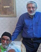 حاج میر اسماعیل موسوی، پدر میر حسین موسوی درگذشت
