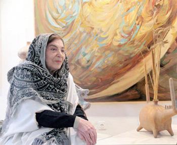 منصوره حسینی ـ نقاش نوگرا ـ 17 روز قبل از دنیا رفت.